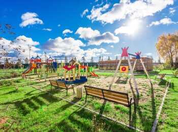Зоны отдыха и детские площадки